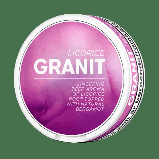 Granit Sensations Licorice Portionssnus