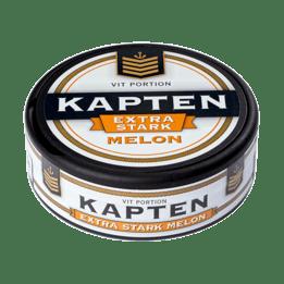 Kapten Vit Melon Extra StarkPortionssnus