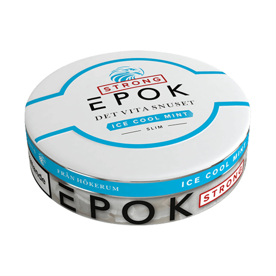 Epok Ice Cool Mint Slim StrongVit Tobak Portionssnus