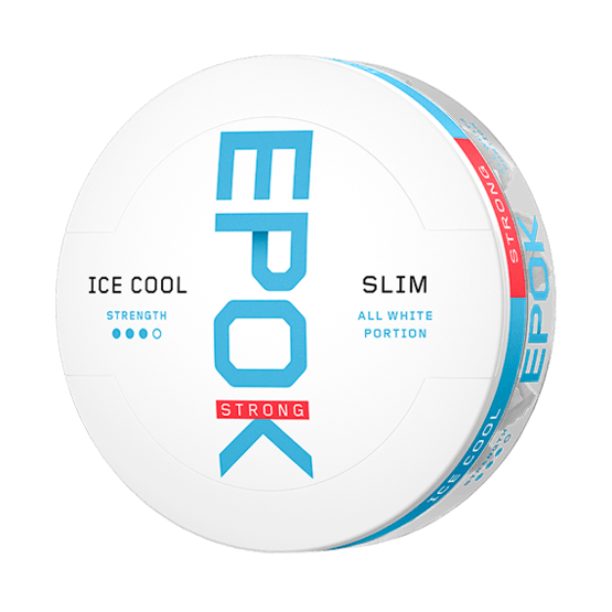 Epok Ice Cool Mint Slim Strong Vit Tobak Portionssnus