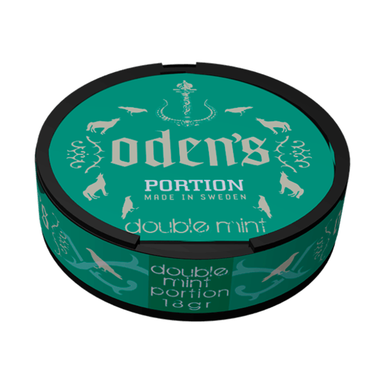 Odens Double Mint Portionssnus