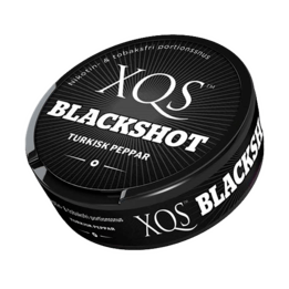 XQS Blackshot Portion Nikotinfritt Snus