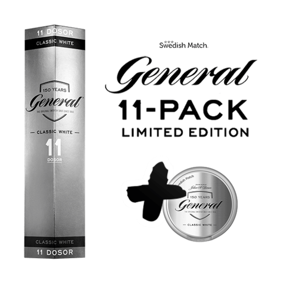 General White 11-pack