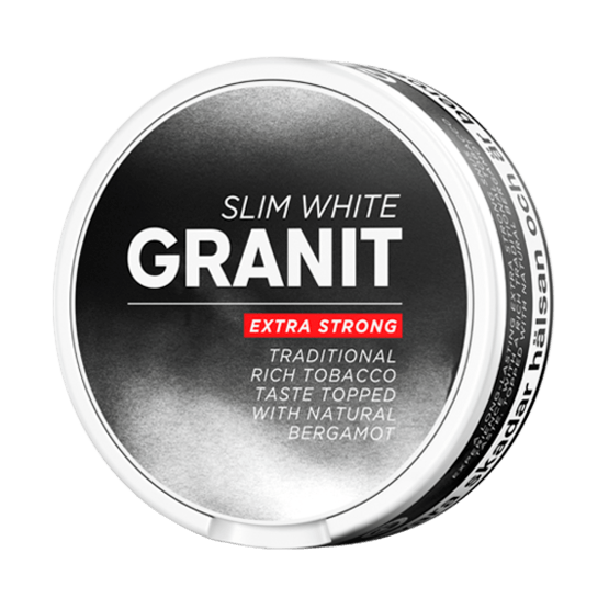 Granit Slim Stark Vit Portion
