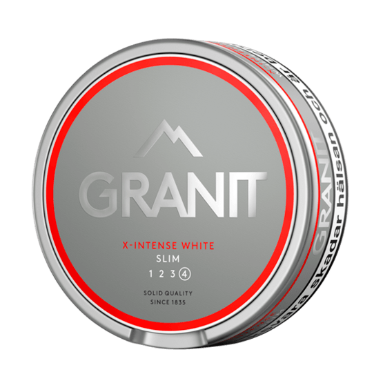 Granit X-Intense White Slim Portion