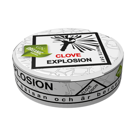 Odens Clove Explosion White Dry Portionssnus
