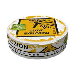 Odens Clove Explosion White Portionssnus