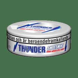Thunder Sweet Mint Slim White Dry Portionssnus