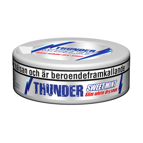 Thunder Sweet Mint Slim White Dry Portionssnus
