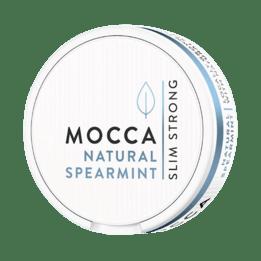 Mocca Natural Spearmint Slim White Portionssnus