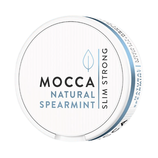 Mocca Natural Spearmint Portionssnus
