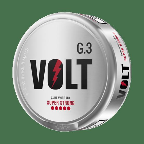 General G.3 VOLT Slim White Dry Super Strong Portionssnus
