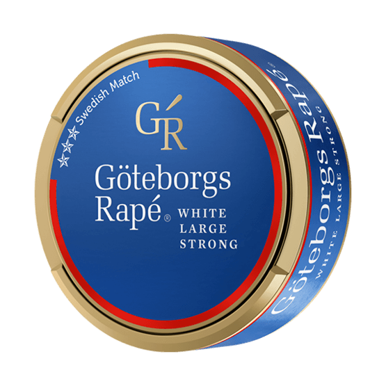 Göteborgs Rapé Strong White Portionssnus