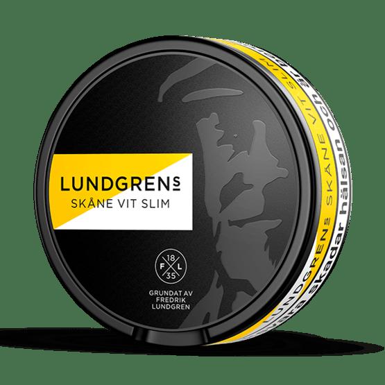 Lundgrens Skåne Slim Vit Portionssnus