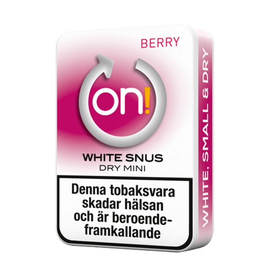 on! Berry 3 mg