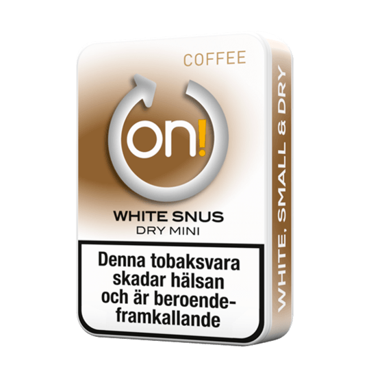 on! Coffee 3 mg