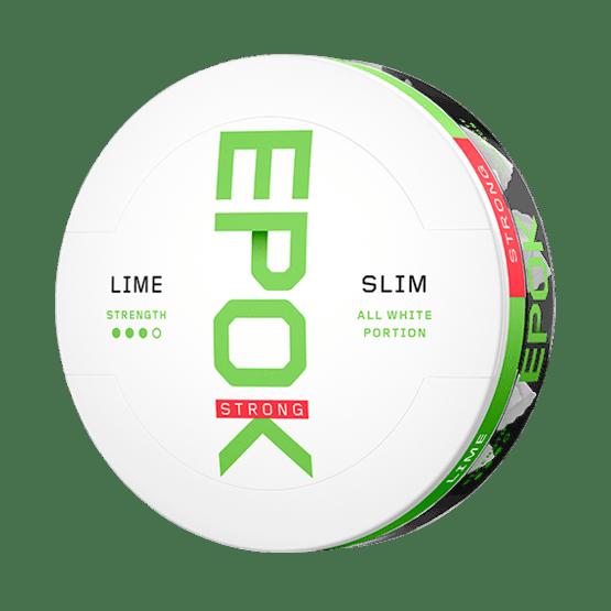 Epok Lime Slim Strong Vit Tobak Portionssnus