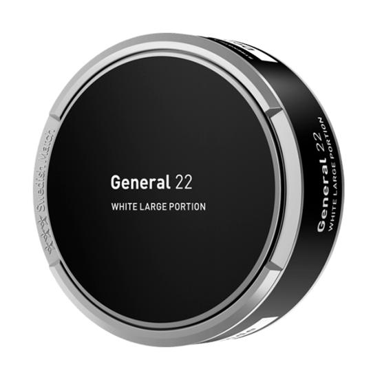 General 22 White Portionssnus