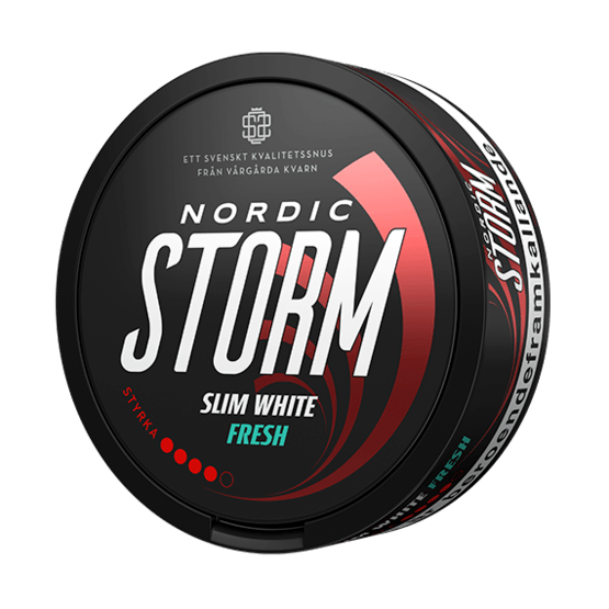 Nordic Storm Slim White Fresh Portionssnus