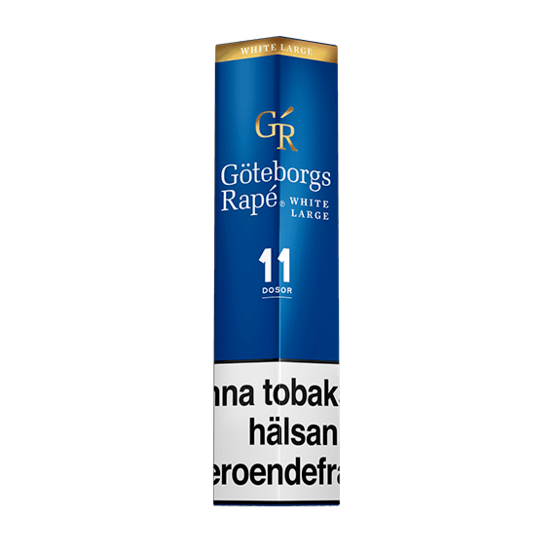 Göteborgs Rapé White Portion 11-pack