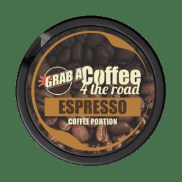 Grab Coffee 4 The Road Espresso Nikotinfritt Portionssnus
