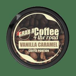 Grab Coffee 4 The Road Vanilla Caramel Nikotinfritt Portionssnus