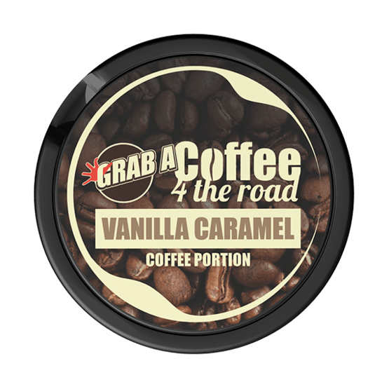Grab Coffee 4 The Road Vanilla Caramel Portionssnus