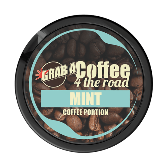 Grab Coffee 4 The Road Mint Portionssnus