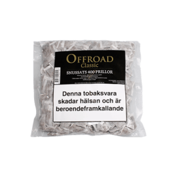 Snussats Offroad Classic Refill 400 Portioner