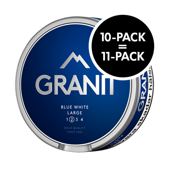 Granit Blue White Portion Large