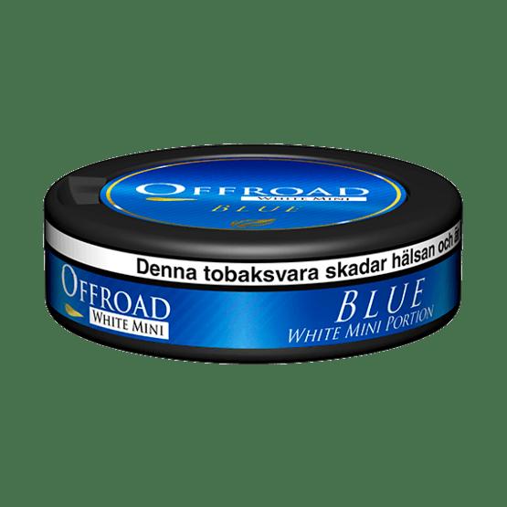 Offroad Blue White Mini Portionssnus