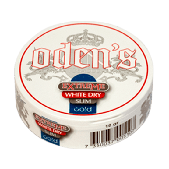 Odens Cold Slim Extreme White Dry Portionssnus