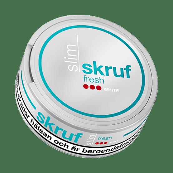 Skruf Slim Fresh Stark White Portionssnus
