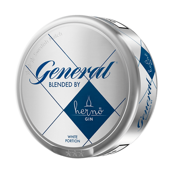 General Blended by Hernö Gin White Portionssnus