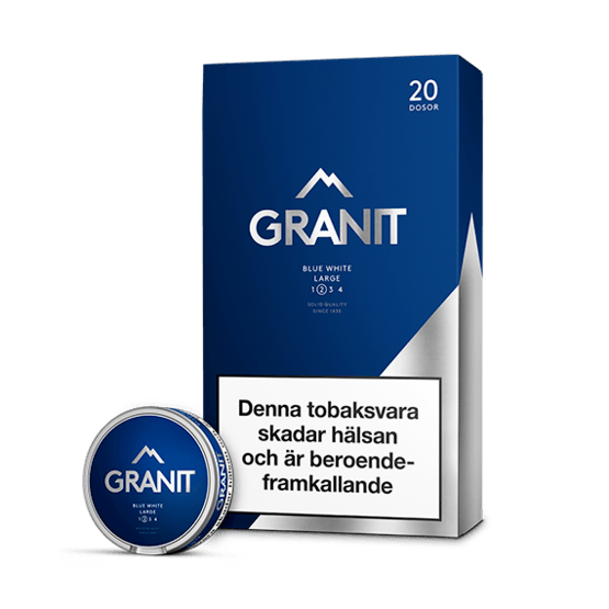 Granit Blue White Portion 20-pack