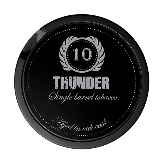 Thunder 10 Years Portionssnus