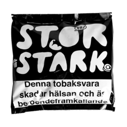 Snussats STOR STARK Portion