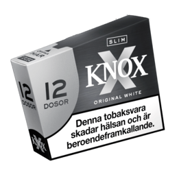 Knox Slim Original White Portionssnus 12-pack