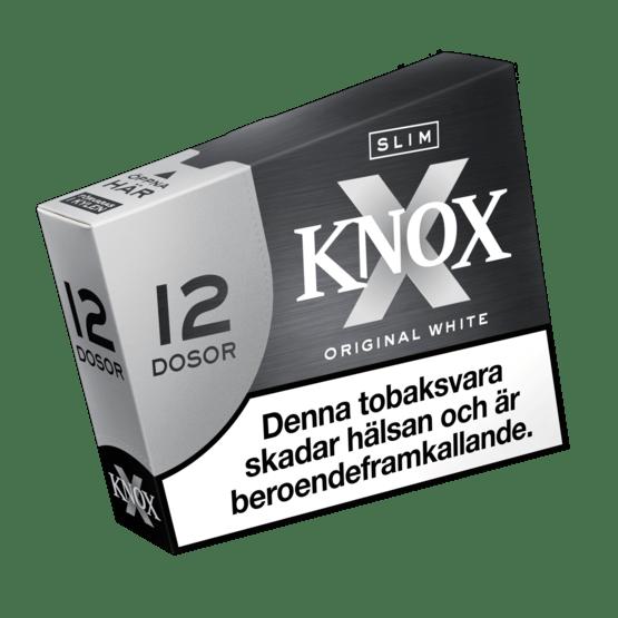 Knox Slim Original White Portionssnus 12-pack