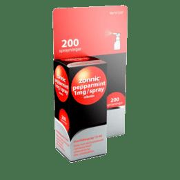 Zonnic Pepparmint Nikotinspray 1 mg 200 doser