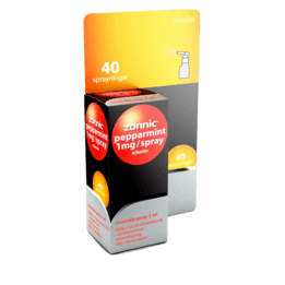 Zonnic Pepparmint Nikotinspray 1 mg 40 doser