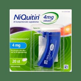 Niquitin  Nikotintablett 4 mg 20 st
