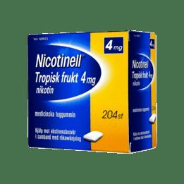 Nicotinell Tropical Nikotintuggummi 4 mg 204 st