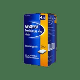 Nicotinell Tropical Nikotintuggummi 4 mg 96 st