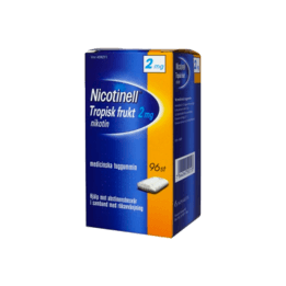 Nicotinell Tropical Nikotintuggummi 2 mg 96 st