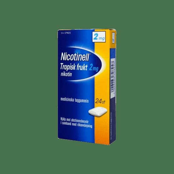 Nicotinell Tropical Nikotintuggummi 2 mg 24 st