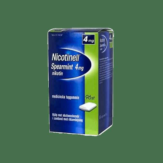 Nicotinell Spearmint Nikotintuggummi 4 mg 96 st