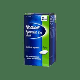 Nicotinell Spearmint Nikotintuggummi 2 mg 96 st