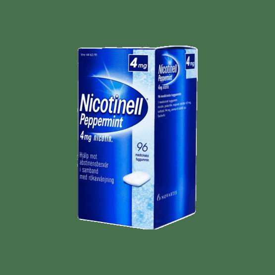 Nicotinell Peppermint Nikotintuggummi 4 mg 96 st