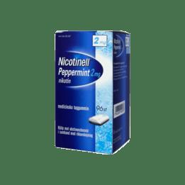 Nicotinell Peppermint Nikotintuggummi 2 mg 96 st